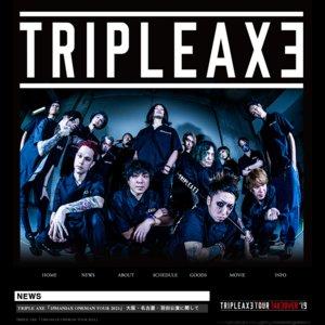 TRIPLE AXE 「15MANIAX ONEMAN TOUR 2021」 Zepp Osaka Bayside 1部