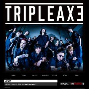 TRIPLE AXE 「15MANIAX ONEMAN TOUR 2021」(振替公演)  Zepp Osaka Bayside 2部
