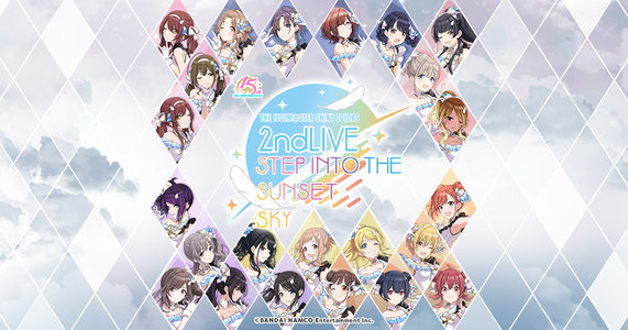 THE IDOLM@STER SHINY COLORS 2ndLIVE STEP INTO THE SUNSET SKY DAY1
