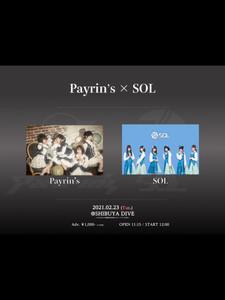 【日程・会場変更】Payrin's定期公演 「Proelium」-Payrin's × SOL-