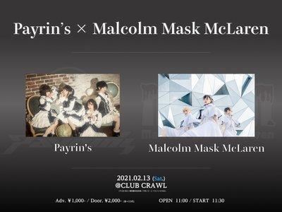 Payrin's × Malcolm Mask McLaren