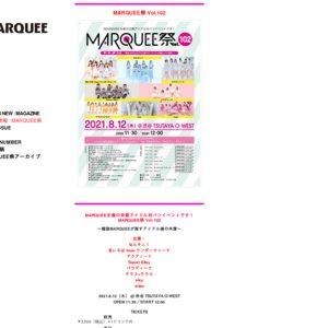 MARQUEE祭 Vol.102