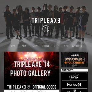 TRIPLE AXE '14