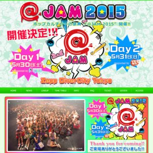 @JAM 2015 Day 2 supported by リスアニ! TV