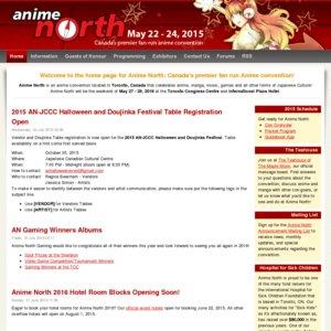 Anime North 2015 Friday