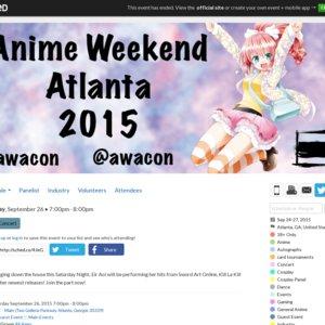 Eir Aoi Concert (Anime Weekend Atlanta)