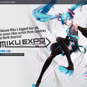 HATSUNE MIKU EXPO 2016 NORTH AMERICA (Los Angeles)
