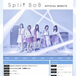 Split BoB ONEMAN TOUR 2017 「オヒレフシメ」 大阪公演