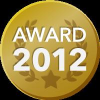 EVENTER AWARD 2012 受賞者バッジ