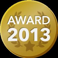 EVENTER AWARD 2013 受賞者バッジ