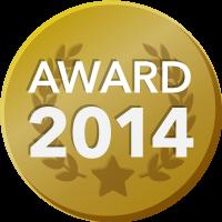 EVENTER AWARD 2014 受賞者バッジ