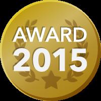 EVENTER AWARD 2015 受賞者バッジ