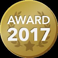 EVENTER AWARD 2017 受賞者バッジ